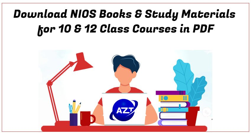 Download NIOS Books & Study Materials for 10 & 12 Class Courses in PDF