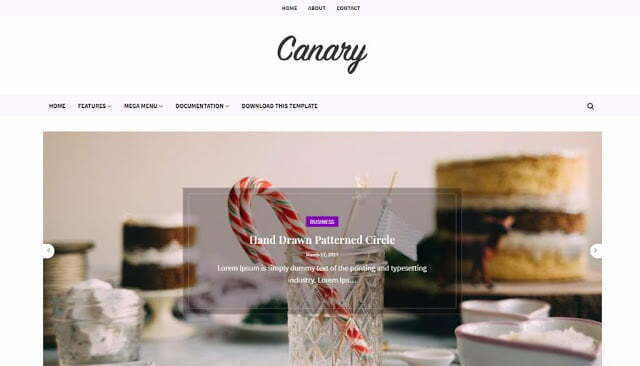 [PREMIUM] Canary Blogger Template [FREE DOWNLOAD ] - 2021