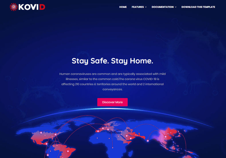 [Paid] Kovid Blogger Template Download