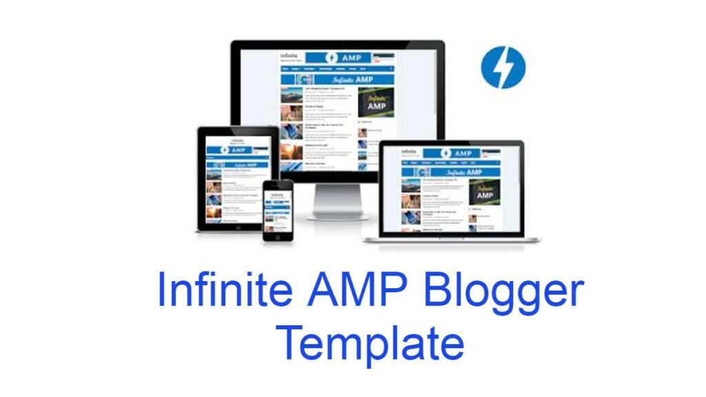 Infinite amp blogger template free download 2021