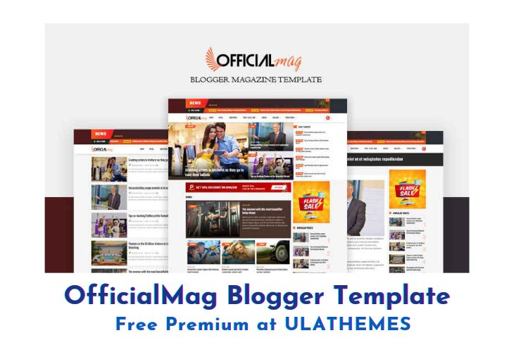 [Paid] OfficialMag Premium Blogger Template Download