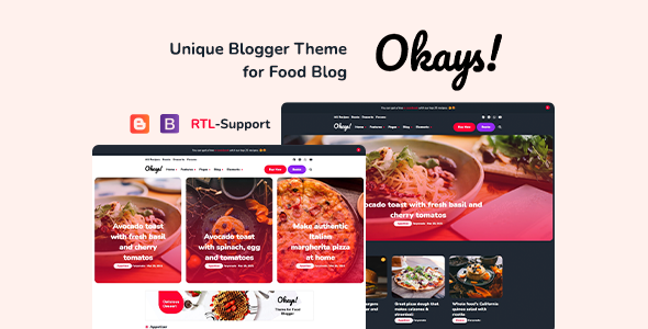 Okays! - Blogger Personal Theme Responsive Download