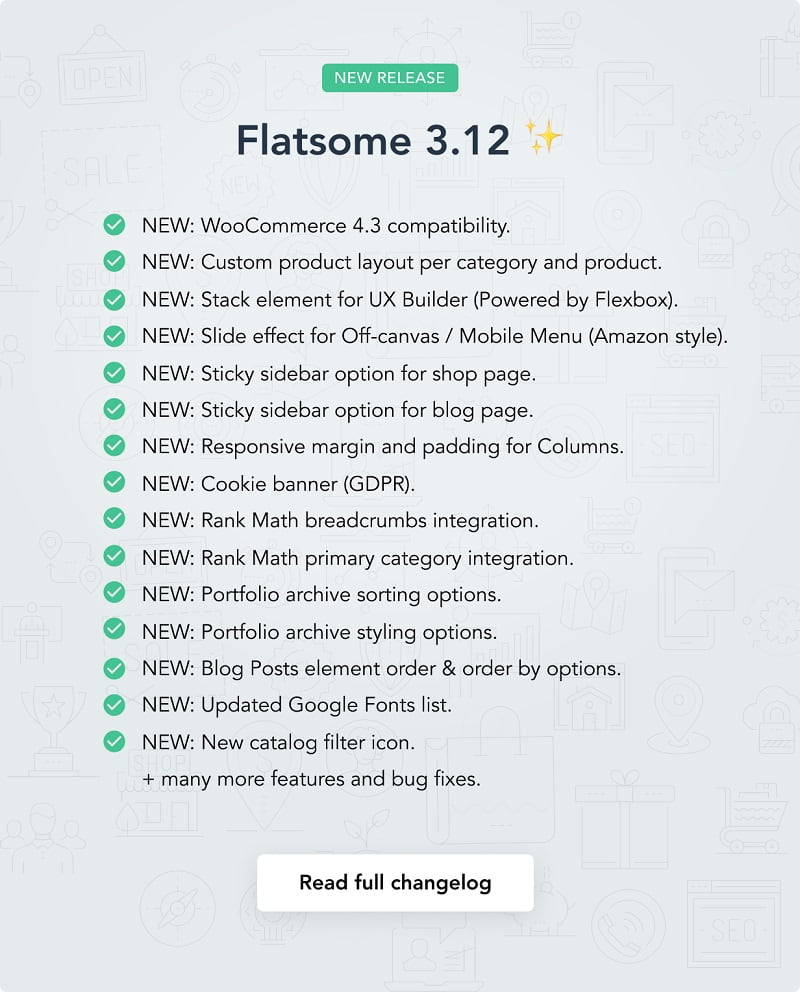 Feature Highlights Flatsome Theme – Multi-Purpose Responsive WooCommerce